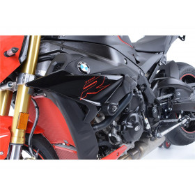 Tampons de protection Aero R&G RACING noir BMW S1000R