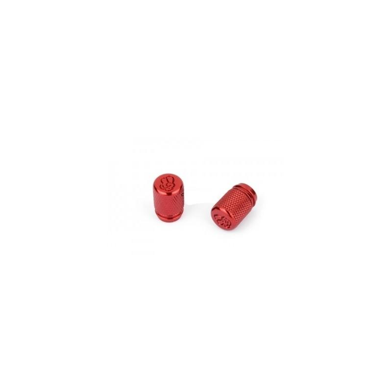 Bouchons de valves Rond rouge