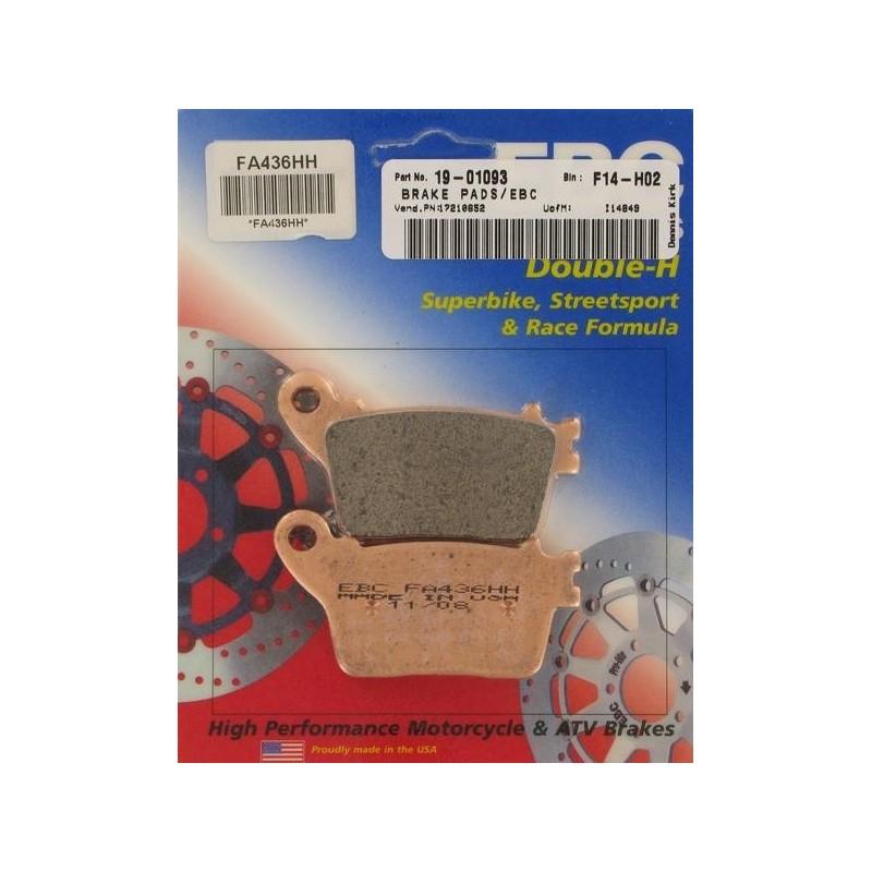 plaquette arrière EBC-FA436HH