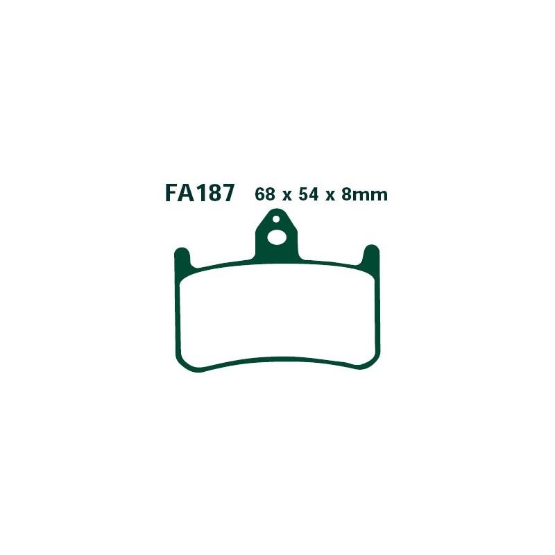 Plaquette avant EBC-FA187HH