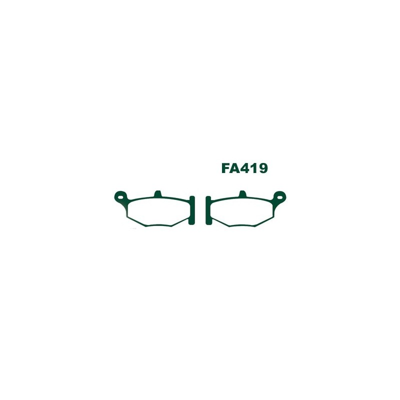 plaquette arrière EBC-FA419HH