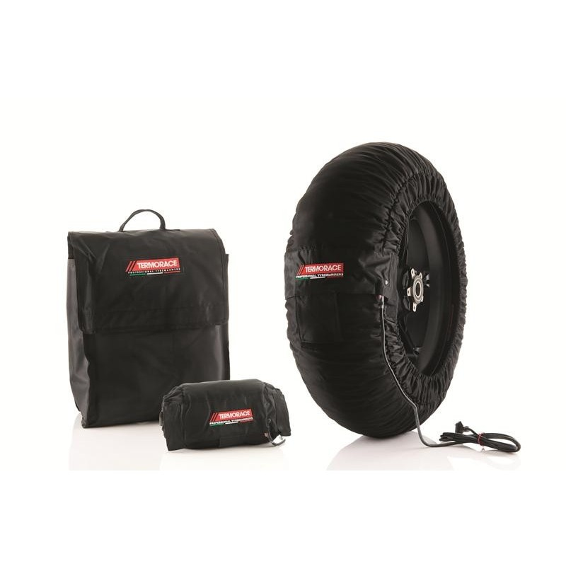 Couvertures Chauffantes Noires Termorace Advanced Sbk/Moto2