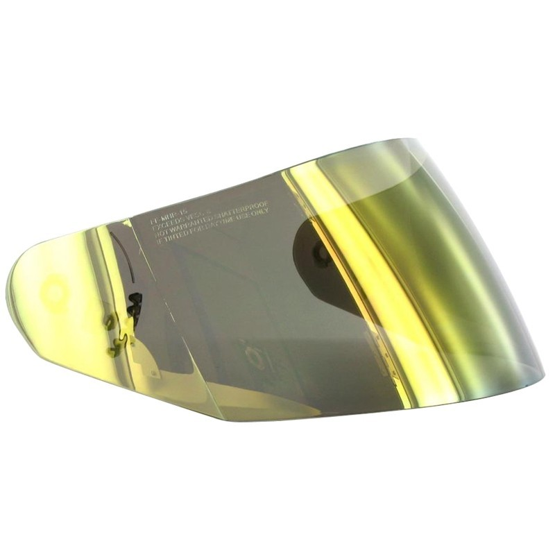Visière LS2 pour casque FF350 irridium Or