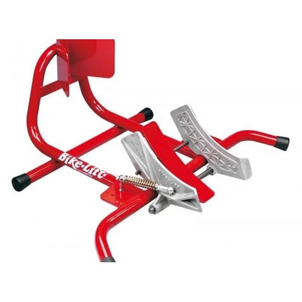 bloque roue moto bike lift. Black Bedroom Furniture Sets. Home Design Ideas