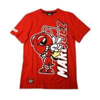 Tee shirt rouge Homme Marc Marquez