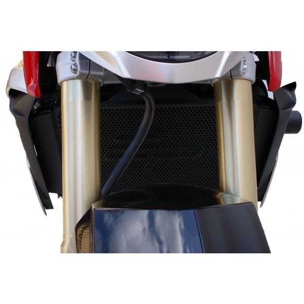 Grille de protection evotech pour radiateur suzuki gsr 750 - Grille de radiateur gsr 600 ...