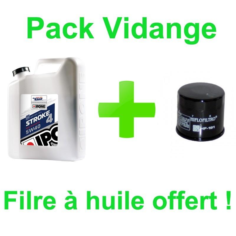 Ipone Stroke 5w40 4L + filtre offert