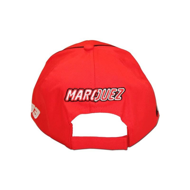Casquette Rouge Marc Marquez