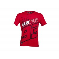 Tee shirt Rouge Homme Marc Marquez