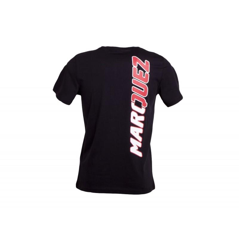 Tee shirt Noir Homme Marc Marquez