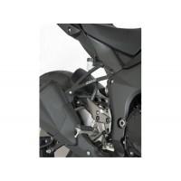 Pattes De Fixation De Silencieux Noires R&G Pour Kawasaki