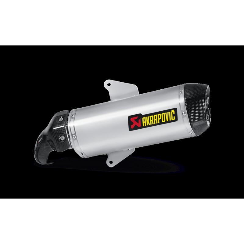 Silencieux Akrapovic homologué pour 850 SRV