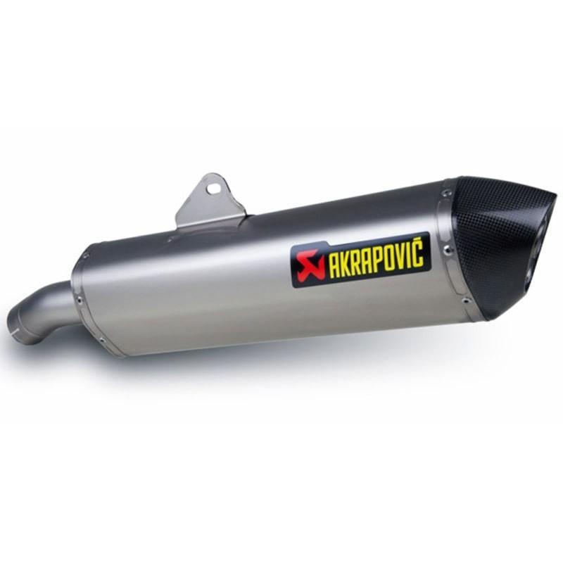 Silencieux Akrapovic homologué pour F800GT