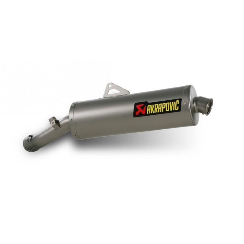 Silencieux Akrapovic homologué pour R 1200 GS Adventure 10-13