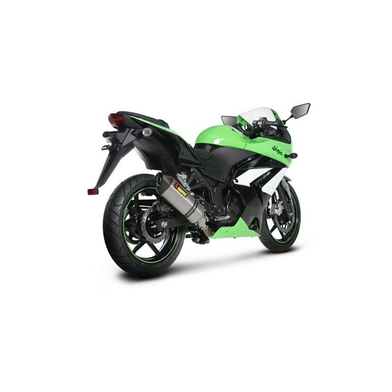 Silencieux Akrapovic pour Ninja 250 R 08-12