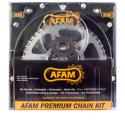 Kit chaine AFAM 520 Acier pour ER6 05-14