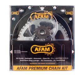 Kit chaine AFAM 525 pour GSR 750 11-15