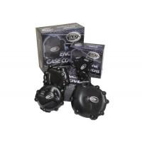 Couvre-Carter Droit Noir R&G Suzuki Gsx1000s