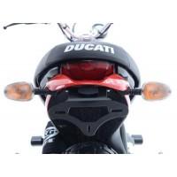 Support de plaque noir R&G Ducati SCRAMBLER