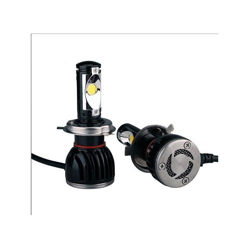Projecteur H4 LED + ballast