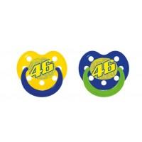 Tétines Valentino Rossi 2 coloris