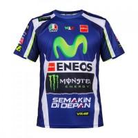 T-shirt Valentino Rossi replica Yamaha 2017