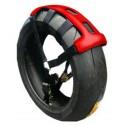 Fixe roue rouge