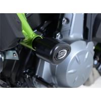 Tampons De Protection R&G Racing Aero Noir Kawasaki Z650