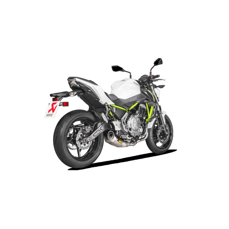 Ligne complète Racing Akrapovic pour Z650/Ninja 650