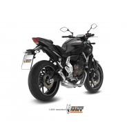 Ligne complète MIVV Speed Edge inox/casquette carbone Yamaha MT-07