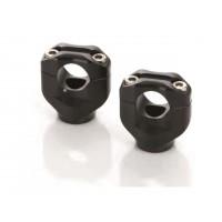 Pontets noir Black bar mounts LSL Ø 25.4 mm