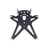 Support de plaque reglable Lightech noir Yamaha MT-07