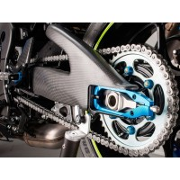Protections de bras oscillant LIGHTECH carbone brillant Suzuki GSX-R1000 2017
