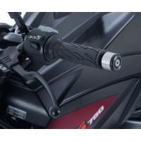Embouts de guidon R&G RACING noir Suzuki GSX-R1000 2017