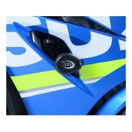 Tampons de protection R&G RACING Aero noir Suzuki GSX-R1000 2017