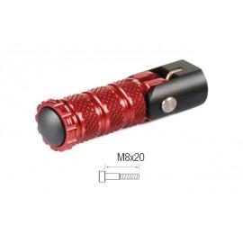 Repose-pieds repliables LIGHTECH M8x20 tête cylindrique