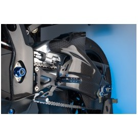Garde boue arrière LIGHTECH carbone brillant Suzuki GSX-R1000 2017