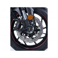 Protection de fouche R&G RACING noir Suzuki GSX-S750