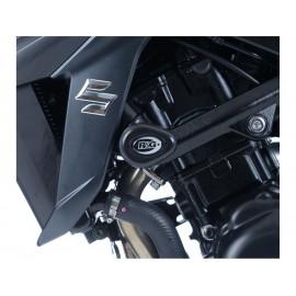 Tampons de protection R&G RACING Aero noir Suzuki GSX-S750