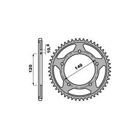 Couronne acier PBR 525 type 4398