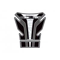 Protection de réservoir MOTOGRAFIX 2pcs noir/blanc Suzuki GSR750