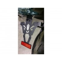 Support de plaque V PARTS noir Suzuki GSR750