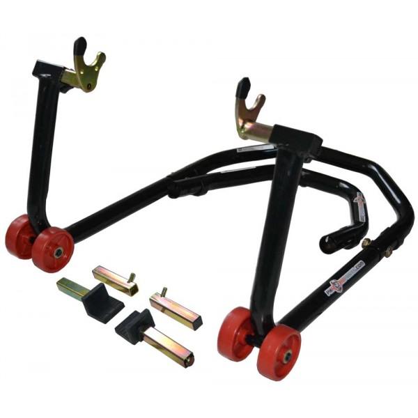 b quille de stand moto pkroadparts 2 en 1 avant et arri re. Black Bedroom Furniture Sets. Home Design Ideas