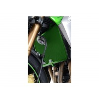 Protection de radiateur verte R&G RACING Kawasaki Z750/800/1000