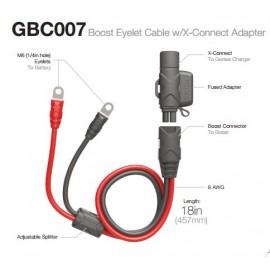 Câble rallonge NOCO Booster Eyelet / SAE 50 cm