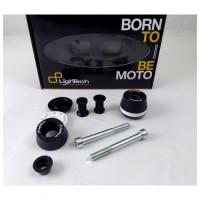 Kit complet roulettes de protection Lightech Yamaha MT-09