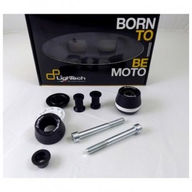 Kit complet roulettes de protection Lightech Yamaha MT-09