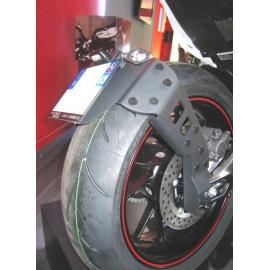 """Support de plaque ACCESS DESIGN déporté """"ras de roue"""" Yamaha MT-09"""