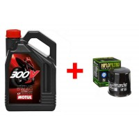 Huile motul 300V FACTORY LINE ROAD RACING 5W40