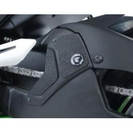 Adhésif protection R&G RACING bras oscillant silencieux Kawasaki H2/H2R